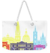 Guadalajara Mx Skyline Pop Weekender Tote Bag