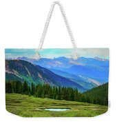 Guanella Pass Impression Weekender Tote Bag