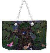 Guardian Of The Woods Weekender Tote Bag