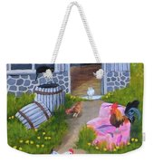Guarding The Hen House Weekender Tote Bag