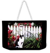 Guarding The Rose Garden Weekender Tote Bag