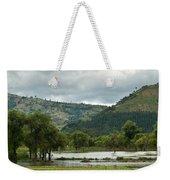 Guatemalan Nursery And Lake Weekender Tote Bag