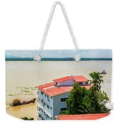 Guayaquil River View Weekender Tote Bag