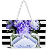 Gucci Perfume Violet Weekender Tote Bag