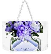 Gucci Perfume With Flower Weekender Tote Bag