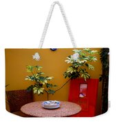 Guess Who's Coming To Dinner Weekender Tote Bag