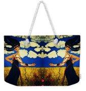 Guiar-symmetrical Art Weekender Tote Bag