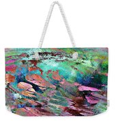 Guided By Intuition - Abstract Art Weekender Tote Bag