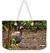 Guinea Fowl 1 Weekender Tote Bag