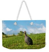 Guineafowl Searching Weekender Tote Bag
