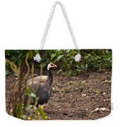 Guineahen Looking For Food Weekender Tote Bag