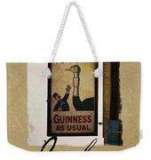 Guinness As Usual Athlone Ireland Weekender Tote Bag