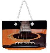 Guitar 12 Weekender Tote Bag