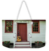 Guitar At Cold Spring Chronicle Weekender Tote Bag
