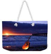 Guitar At Sunrise Weekender Tote Bag