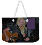 Guitar Girl Weekender Tote Bag