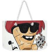 Guitar Ice Cream Weekender Tote Bag