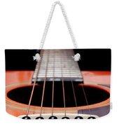 Guitar Orange 19 Weekender Tote Bag