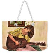 Guitar Player Weekender Tote Bag