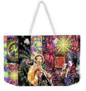 Guitar Watercolor Weekender Tote Bag