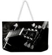 Guitarist Weekender Tote Bag by Stelios Kleanthous