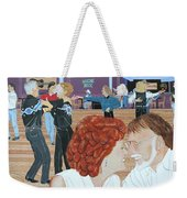 Guitars And Cadillacs Omaha Weekender Tote Bag