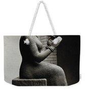 Gula, Mesopotamian Goddess Of Healing Weekender Tote Bag