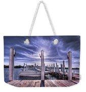 Gulf Coast Blues Weekender Tote Bag