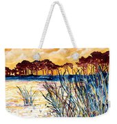 Gulf Coast Seascape Tropical Art Print Weekender Tote Bag