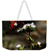 Gulf Fritillary Butterfly Too Weekender Tote Bag