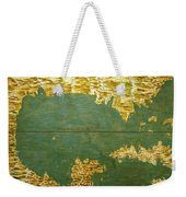 Gulf Of Mexico, States Of Central America, Cuba And Southern United States Weekender Tote Bag