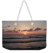 Gulf Sunset Weekender Tote Bag