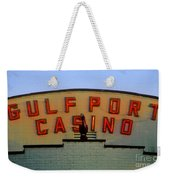 Gulfport Casino Weekender Tote Bag