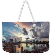 Gulfport Harbor Colors Weekender Tote Bag