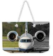 Gulfstream Aerospace G500 I-delo Frontal.nef Weekender Tote Bag