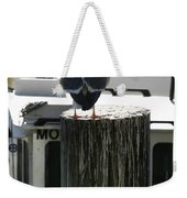 Gull And Pier 1 Weekender Tote Bag