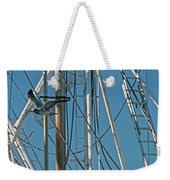 Gull At Sandwich Marina Weekender Tote Bag