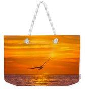 Gull At Sunrise Weekender Tote Bag