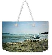 Gull Beach Weekender Tote Bag
