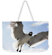 Gull In Flight Weekender Tote Bag