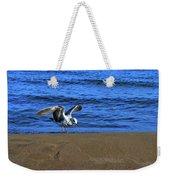 Gull On The Beach  Weekender Tote Bag
