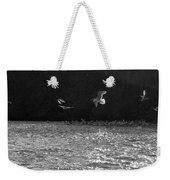 Gulls On The River Weekender Tote Bag
