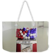 Gumball Red White And Blue Weekender Tote Bag