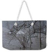 Gumballs Above The Winter Flood Weekender Tote Bag
