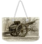 Gun At Fort Howard Weekender Tote Bag