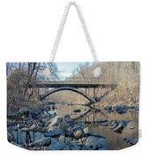 Gunpowder Falls St Pk Bridge - Pano Weekender Tote Bag