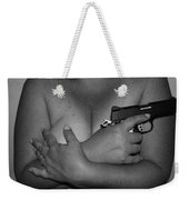 Guns And Ammo Weekender Tote Bag