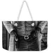 Gunslinger Tombstone Arizona Weekender Tote Bag