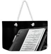 Gustav Mahler Symphony No 1 Weekender Tote Bag