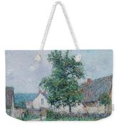 Gustave Loiseau 1865 - 1935 Small Farm In Vaudreuil, Time Gray Weekender Tote Bag